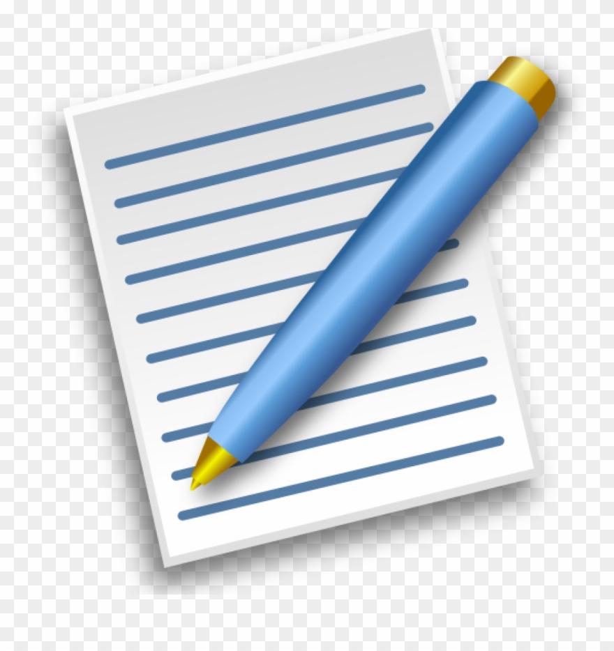 Pen And Paper Clipart Clip Art At Clker Vector Online.