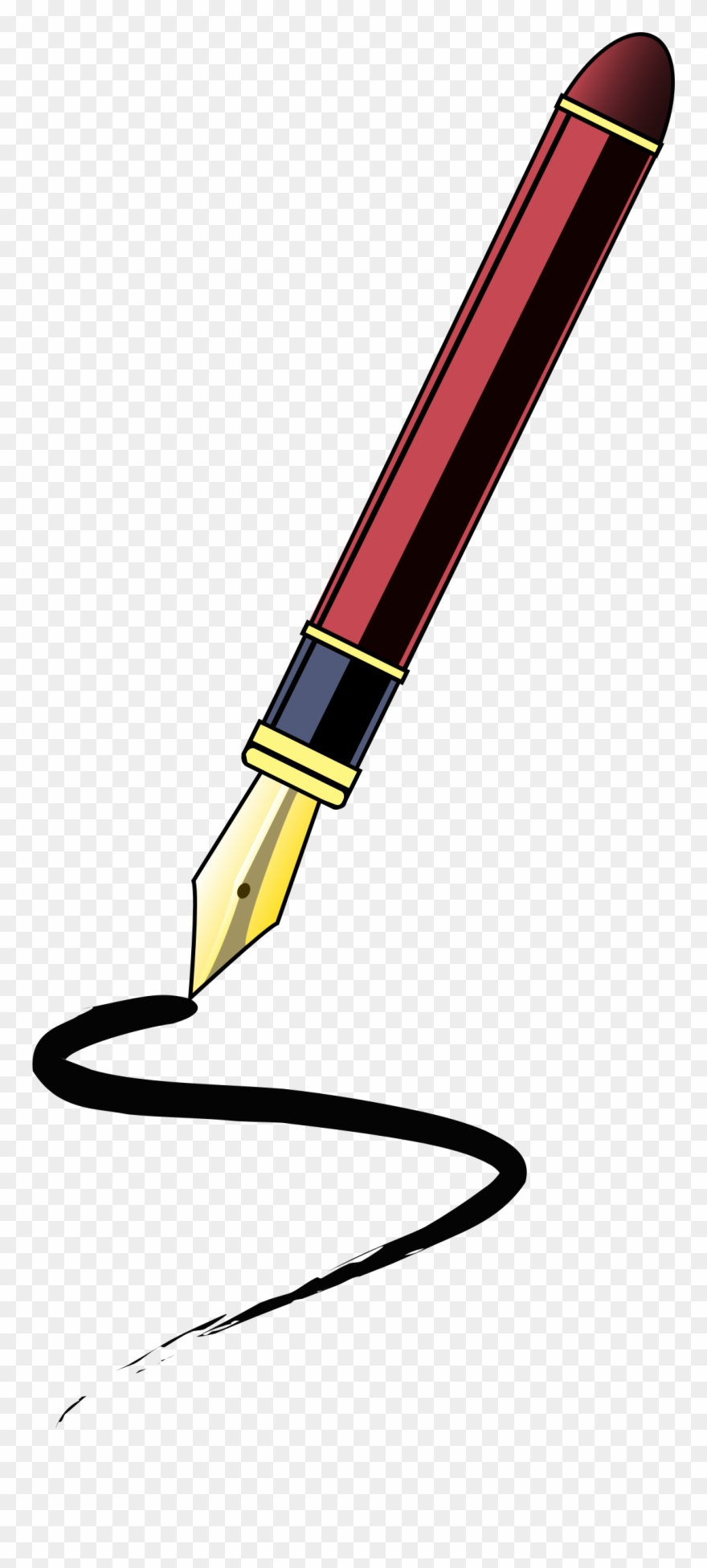 Pen Clipart Journalist.