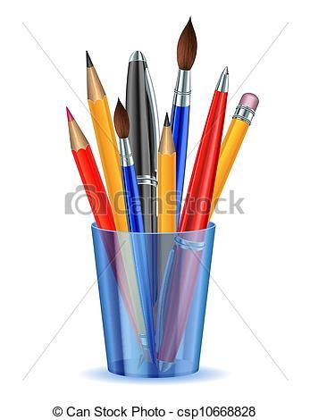 Pen holder Clip Art Vector Graphics. 2,398 Pen holder EPS clipart.
