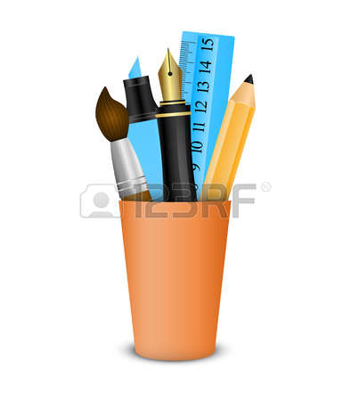 820 Pencil Holder Cliparts, Stock Vector And Royalty Free Pencil.