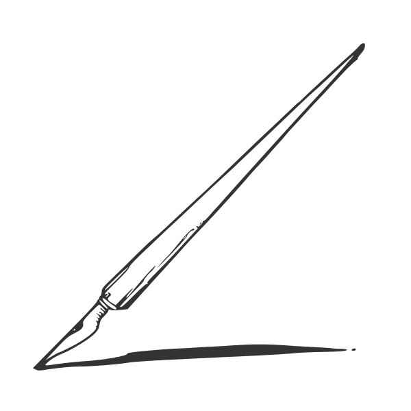 Ink Pen Vector (EPS, SVG, PNG).