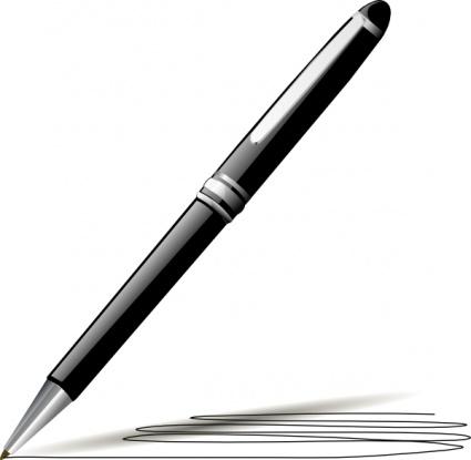 Clipart pen pen signing, Clipart pen pen signing Transparent.