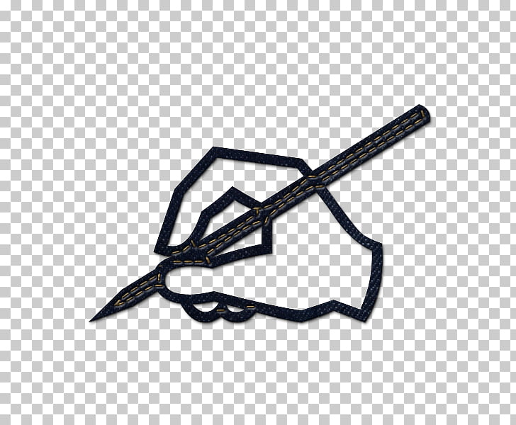 Computer Icons Signature Pen , hand with pen PNG clipart.