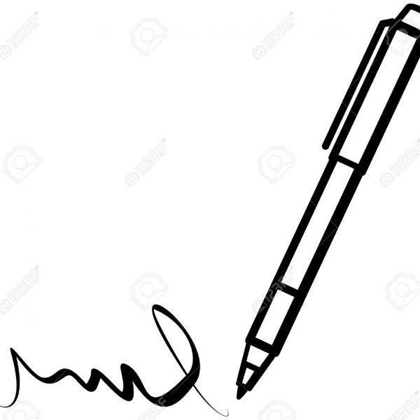 Writing Pen (Vector) Royalty Free Cliparts, Vectors, And.