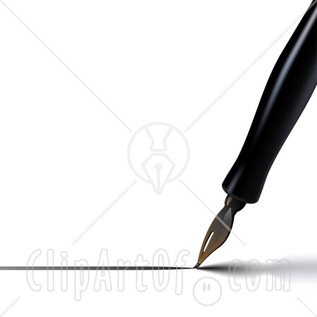 4750 Pen And Paper Clipart Pen And Paper Clipart ~ ClipartFan.