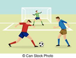 Penalty area Clip Art Vector Graphics. 227 Penalty area EPS.