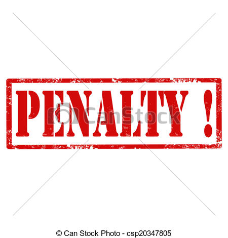 Penalty Clipart.