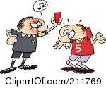 penalty clipart #k1850399.