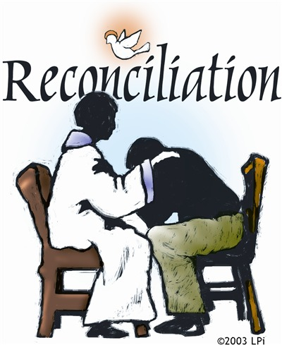 Reconciliation clip art.