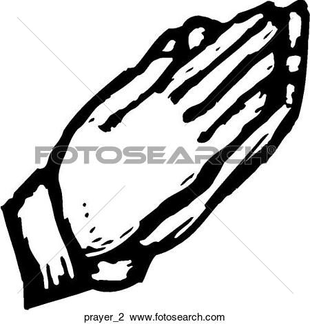 Clip Art of Praying Hands u16641806.