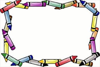 Pencil Border Clipart.