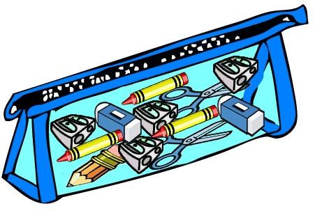 Pencil Case Clipart.