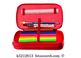 Pencil case Clip Art and Stock Illustrations. 183 pencil case EPS.