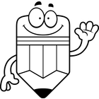 Pencil Writing Clipart Black And White.