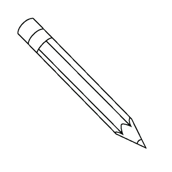 15 Pencil Clipart Black And White For Free Download On.