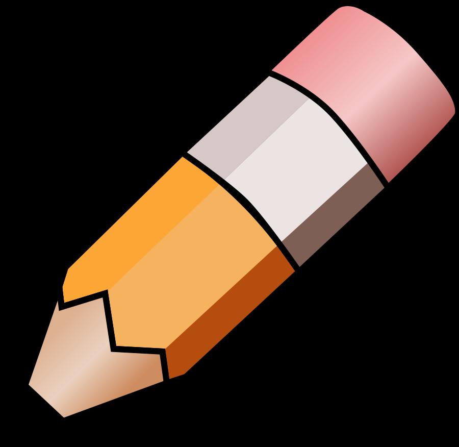 Pencil Clip Art.