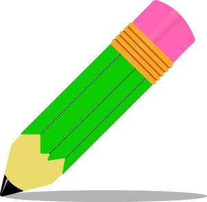 Pencil Clip Art Images.