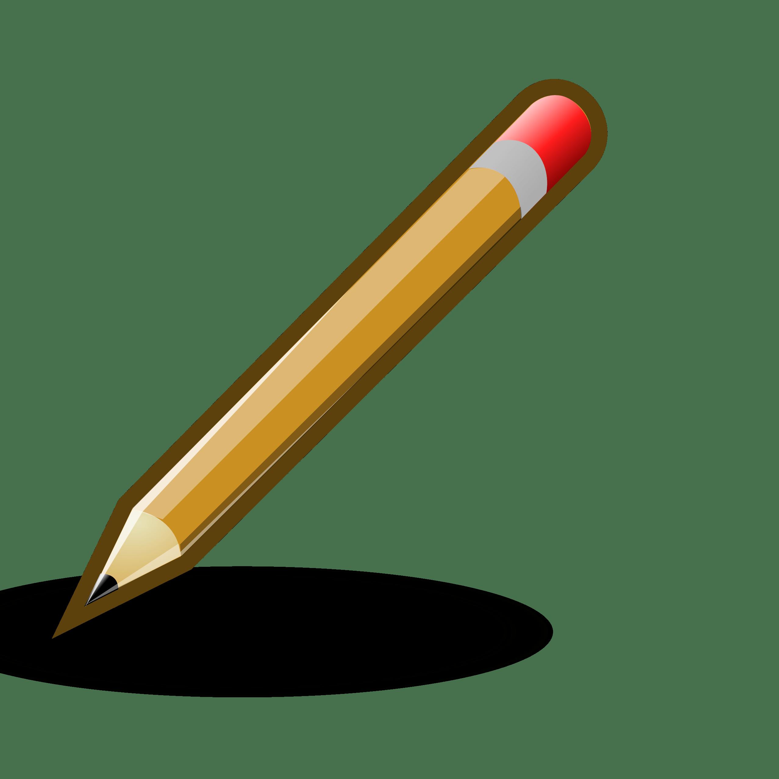 Pencil Drawing Clipart transparent PNG.