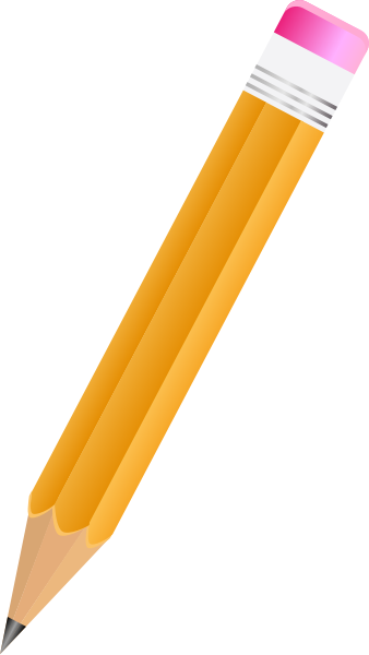 Home Pencil Cliparts.