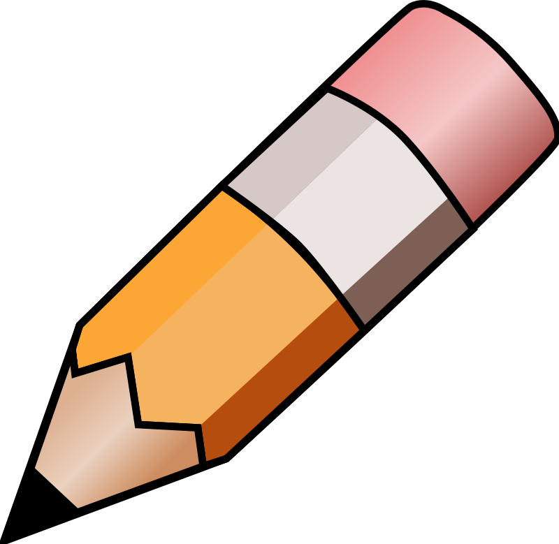 Pencil Clipart Transparent Background.