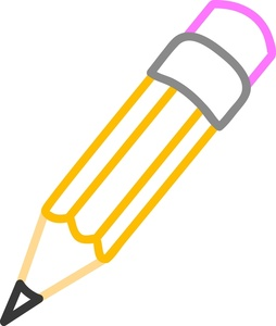 Drawing pencil clipart.
