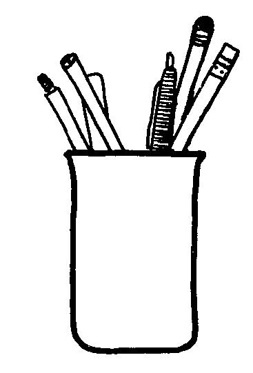 Mormon Share } Pencil Holder.