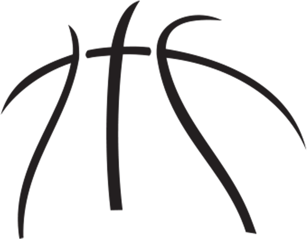 Logo Clipart Basketball Pencil And In Color Basketball.