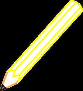 Pencil Outline Clip Art at Clker.com.