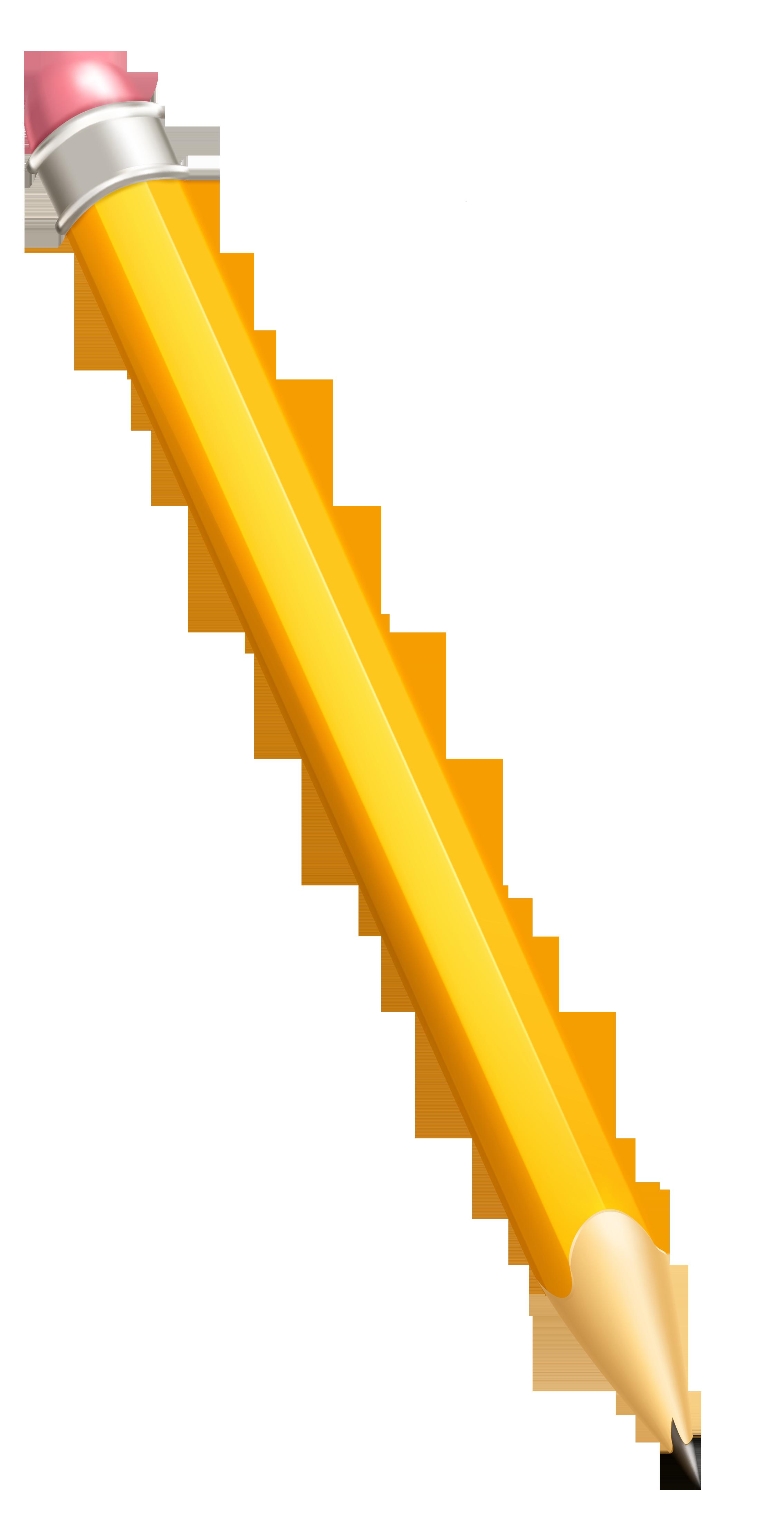 Pencil Transparent PNG Vector Clipart.