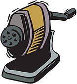 Pencil Sharpener Clip Art.