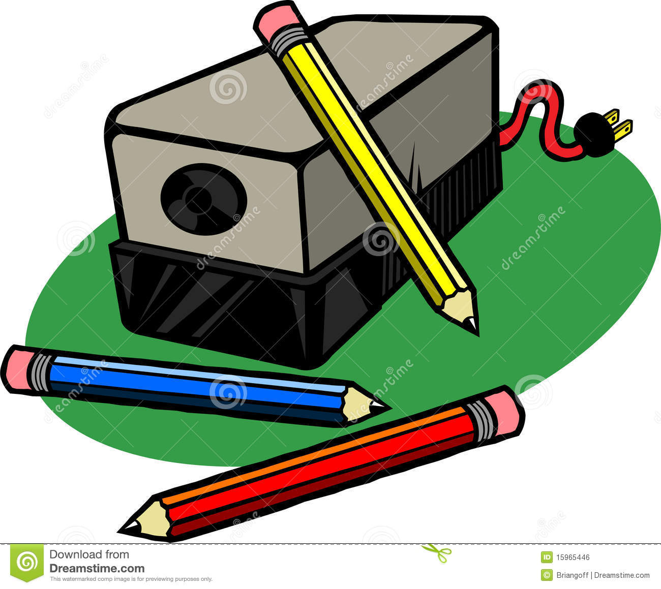 Pencil Sharpener Clipart.