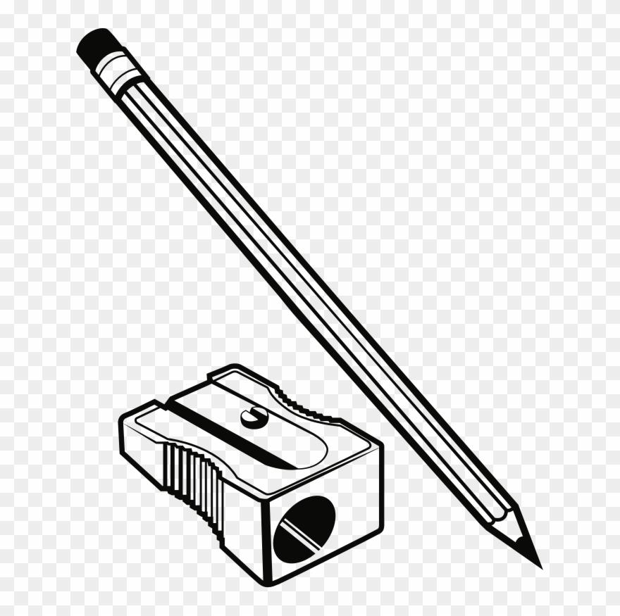 Pencil Sharpeners Line Art Description Technology.