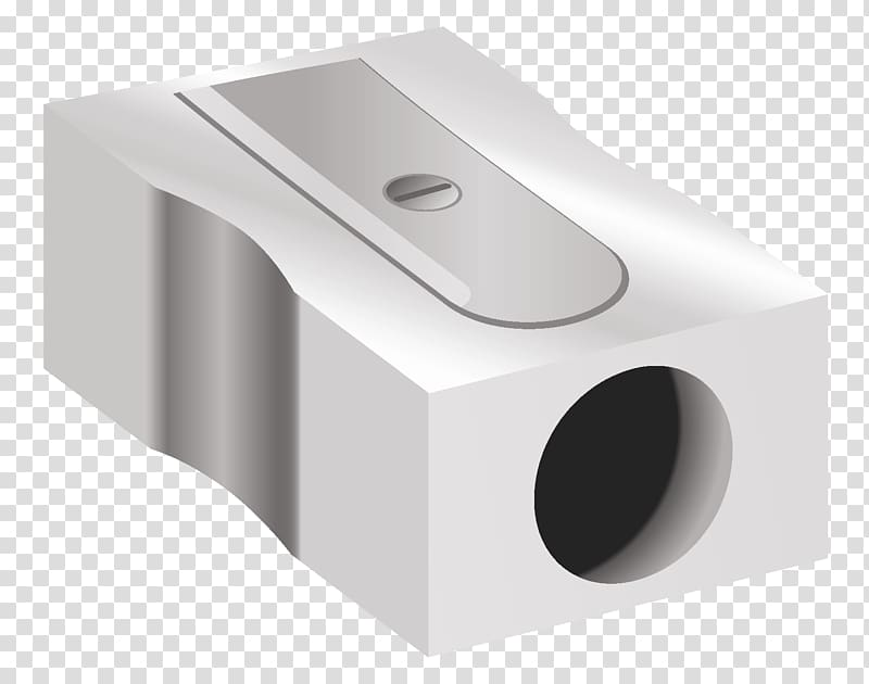 Gray pencil sharpener illustration, Pencil sharpener.