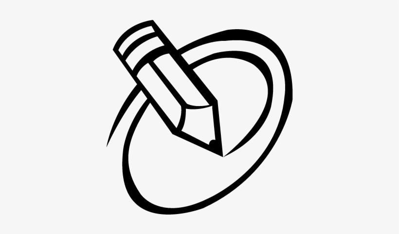Pencil Sketch Logos Clip Art Transparent Download.