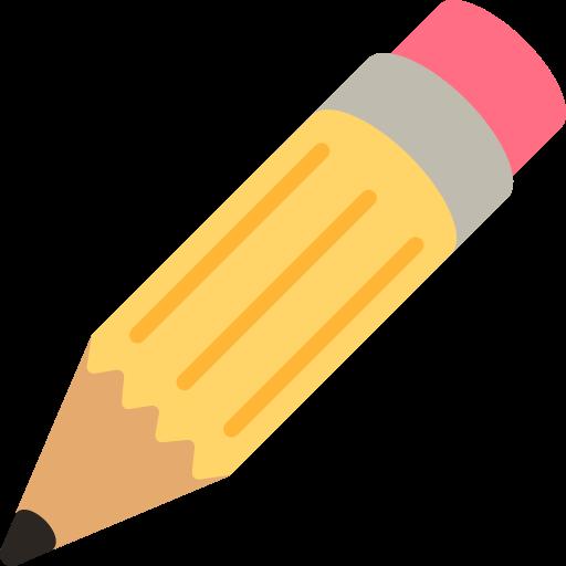 Emoji Pencil Drawing Writing.
