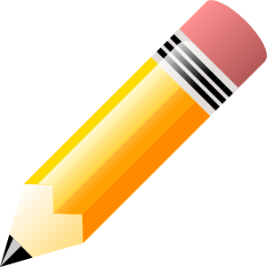 Cartoon pencils clipart.