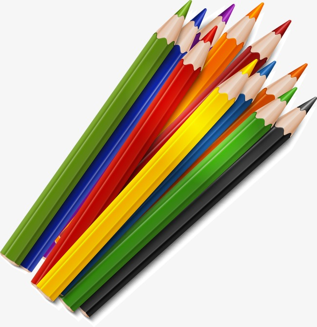 Download Free png Colored Pencils, Education, School, Pencil.