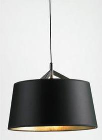 Living Pendant Lamp Lg.Black.