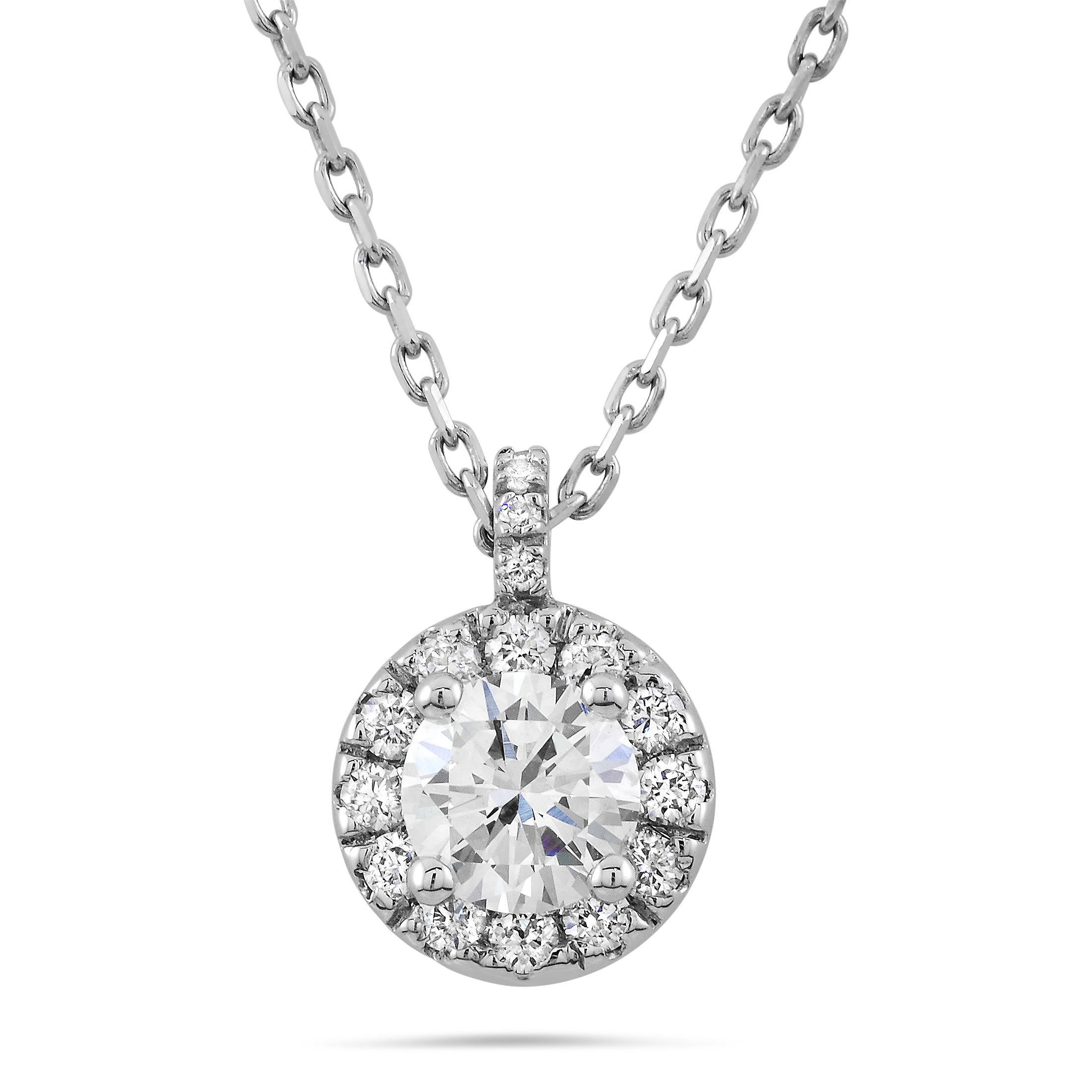 Diamond Pendant PNG Image.
