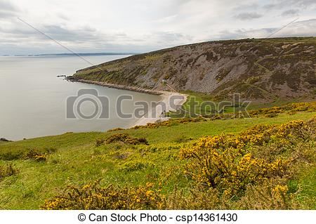 Stock Photos of Marros Sands by Pendine Sands Wales.