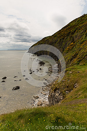 Pendine Sands Beach Wales Stock Photography.