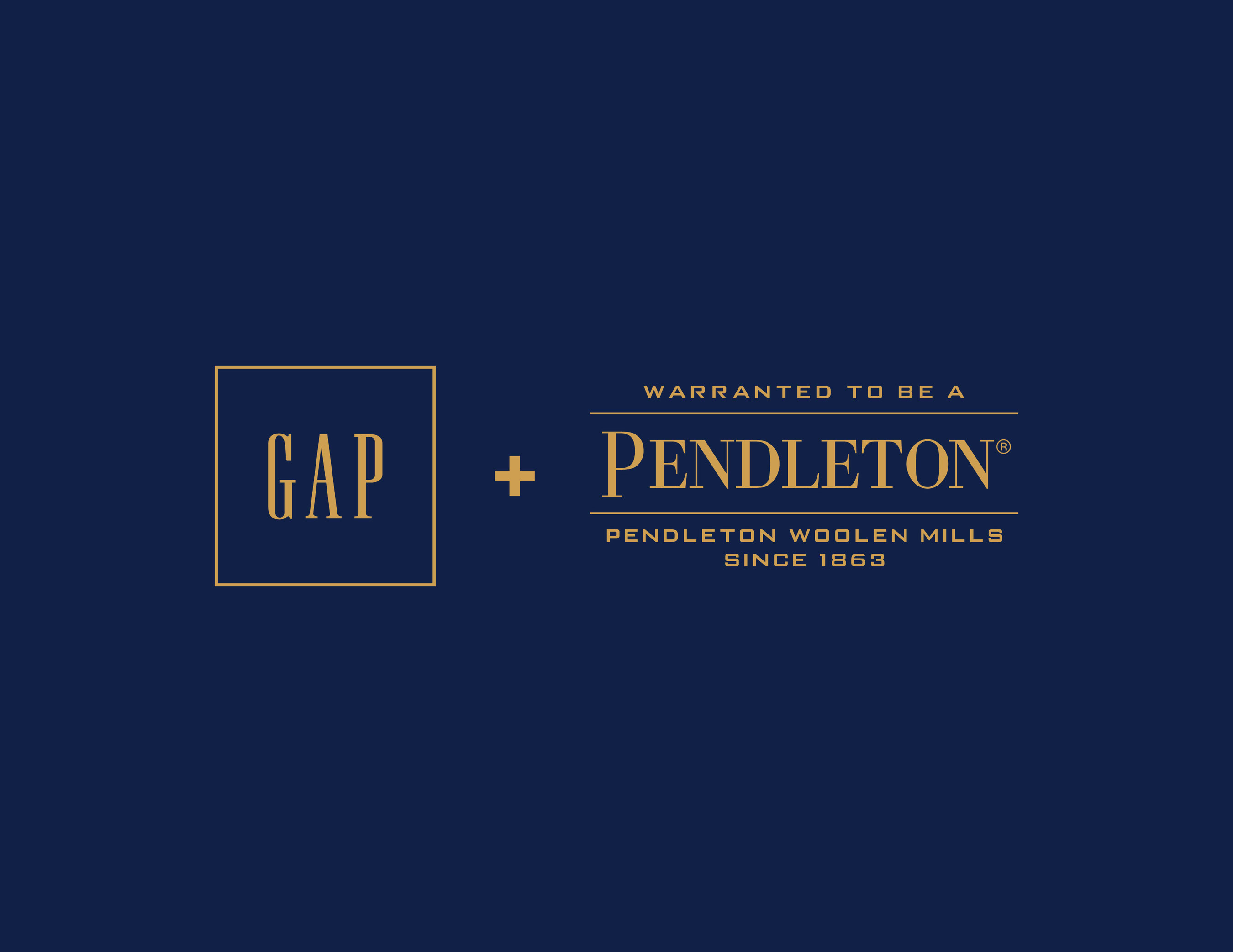 Gap and Pendleton® Collaborate on Fall 2016 Limited.