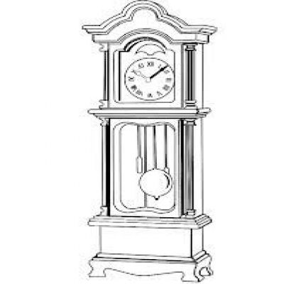 Pendulum Clock Cliparts.
