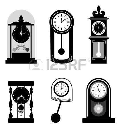 702 Pendulum Clock Stock Illustrations, Cliparts And Royalty Free.