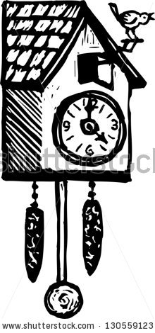 Cuckoo Clock Stock Images, Royalty.