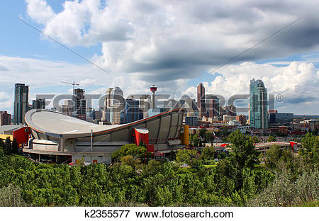 Picture of Calgary office buildings k2355577.