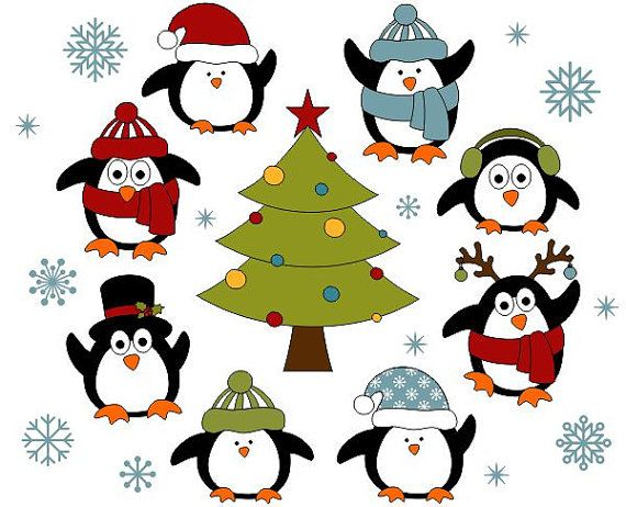cute christmas clipart penguin 20 free cliparts download. Black Bedroom Furniture Sets. Home Design Ideas