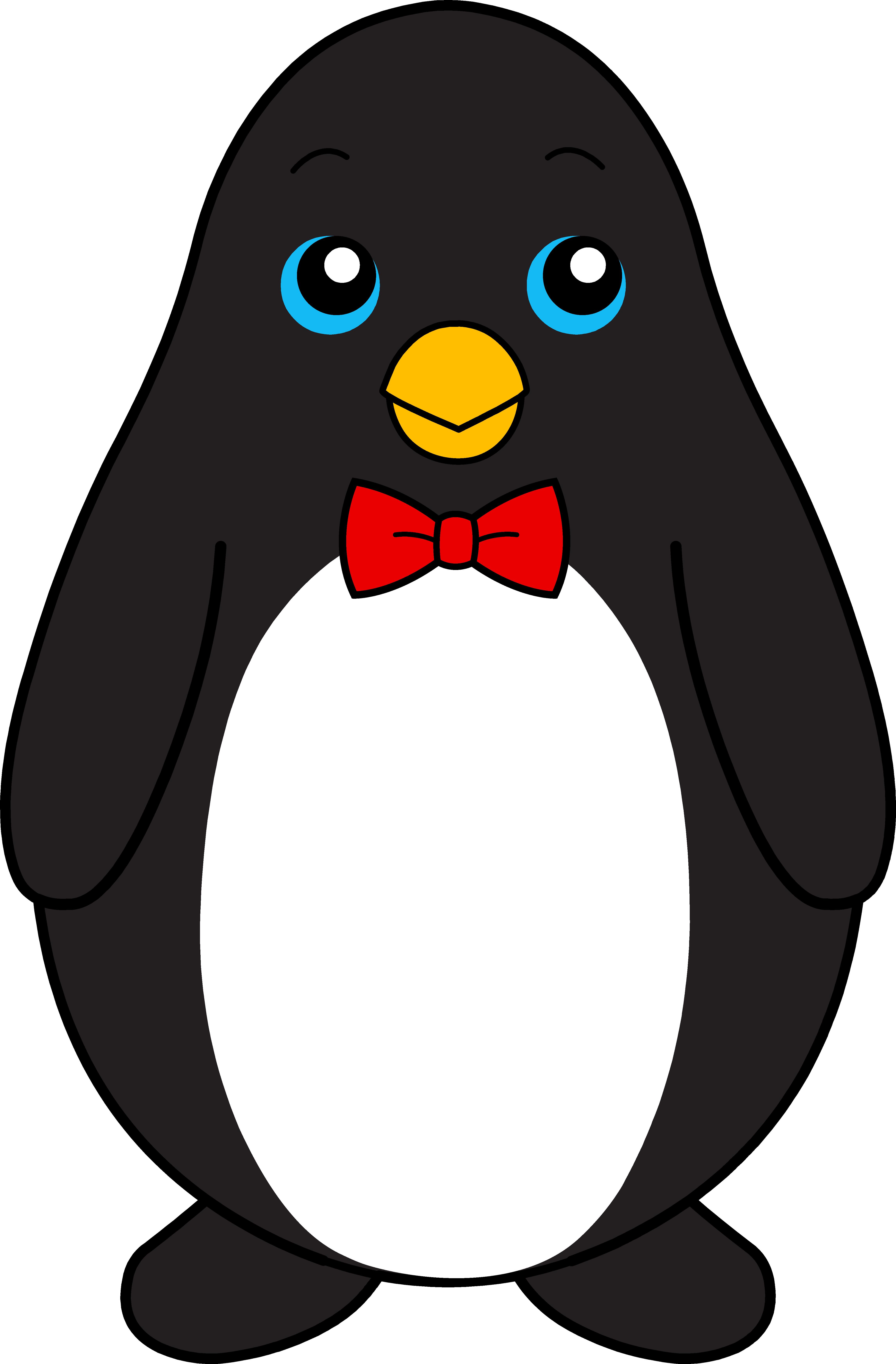 Cute penguin clip art free clipart images.
