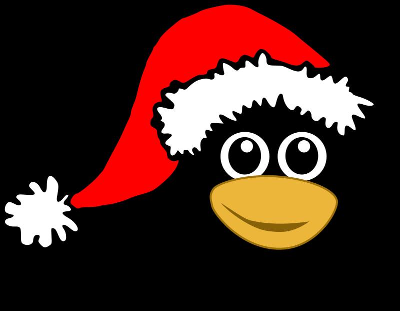 Funny Penguin Clipart.