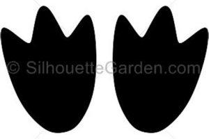 Footprint clipart penguin, Footprint penguin Transparent.